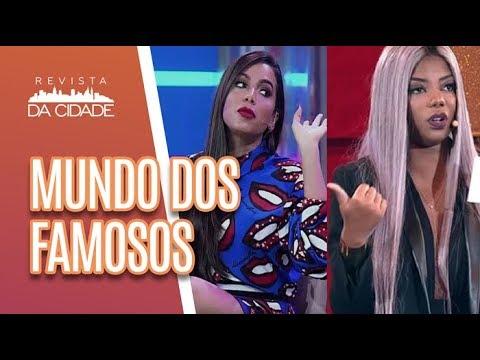 Ludmilla confessa BRIGA com Anitta + Bruna Marquezine e Neymar - Revista da Cidade (19/06/18)