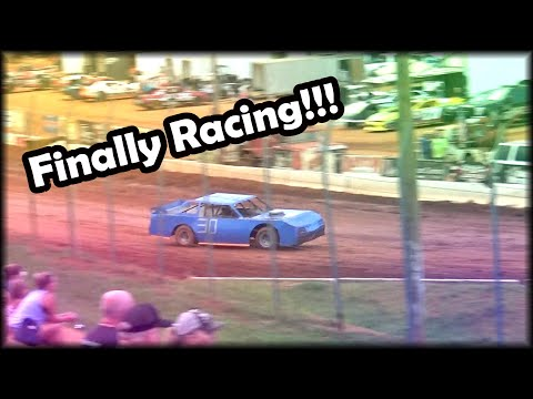 Finally Racing At Cherokee Speedway!