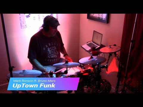 Uptown Funk by Mark Ronson ft. Bruno Mars - Drum Cover (Alesis Crimson Electronic Drum Kit)