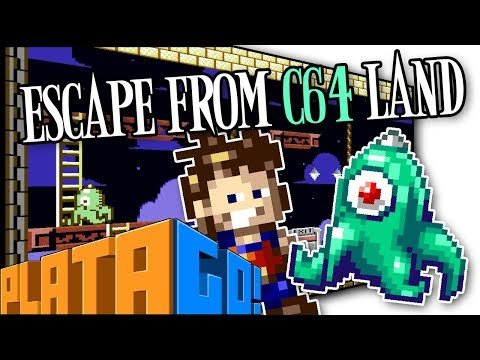 PlataGO! Series Showcase - Escape From C64 Land - Platformer Maker