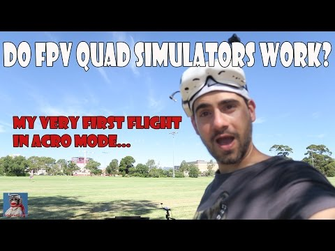 Do FPV Simulators Work? My very first time flying Acro mode after a week on LiftOff!