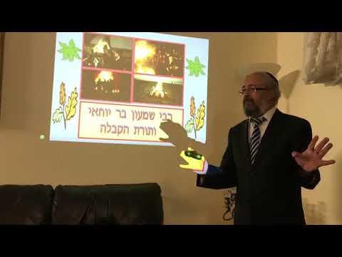 הרב ינון קלזאן - רבי שמעון בר יוחאי ותורת הקבלה הרצאה ברמה גבוהה חובה לצפות!