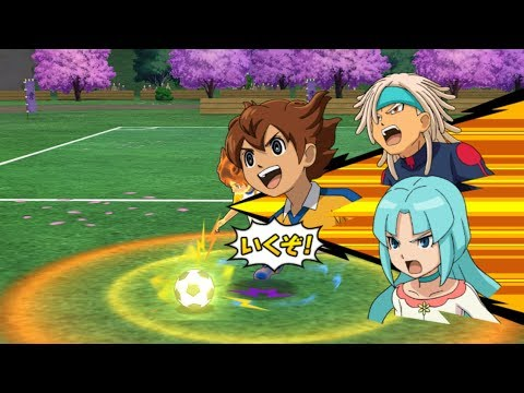 Inazuma Eleven Strikers Go 2013 My Team vs Story Mode Wii Epic Hissatsus (hacks for Dolphin)
