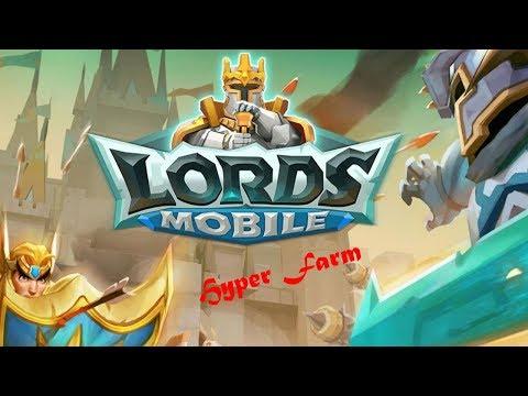 Lords Mobile : Starting Hyper Farm