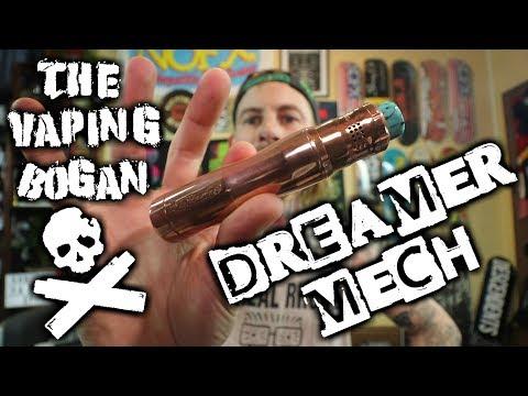 Dreamer 20/21700 Mod | TimesVape & Stan (tenacioustxvapes) The Vaping Bogan