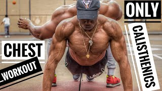 Street Workout for Chest | Push Workout for Size and Strength