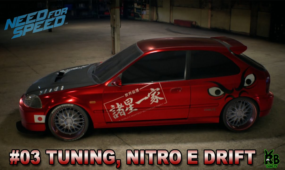 need for speed 2015 03 tuning nitro e drift honda civic. Black Bedroom Furniture Sets. Home Design Ideas