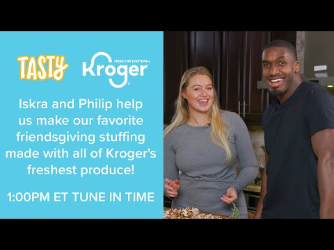 KROGER PRESENTS Holiday Cooking with Iskra & Philip