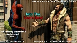 11 Kraven Trains Spidey! The Amazing Spider Man 2 Walkthrough Super Hero Difficulty PC Max Settings