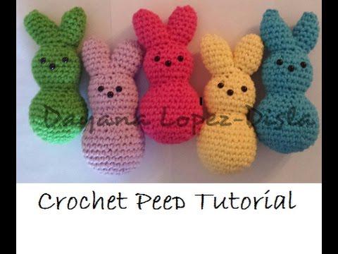 How Easy It Is To Crochet Bunny Peeps Youtube
