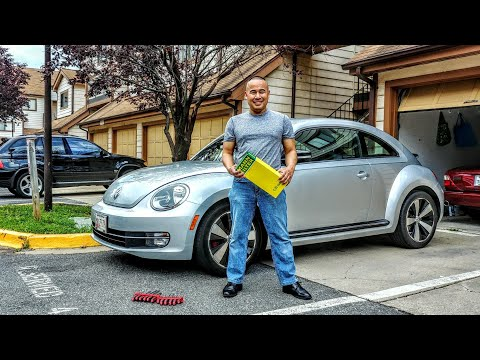 VW/Volkswagen Beetle 2.0L/1.8L Turbo/2.5L 2011-2018 How to Change/Replace Engine Air Filter