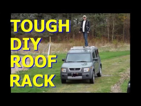 For less than $30...DIY Roof Rack, Tough, Rugged and feather light