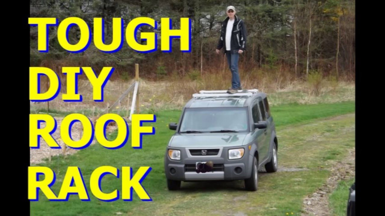 DIY Roof Rack, Tough, Rugged And Feather Light   YouTube