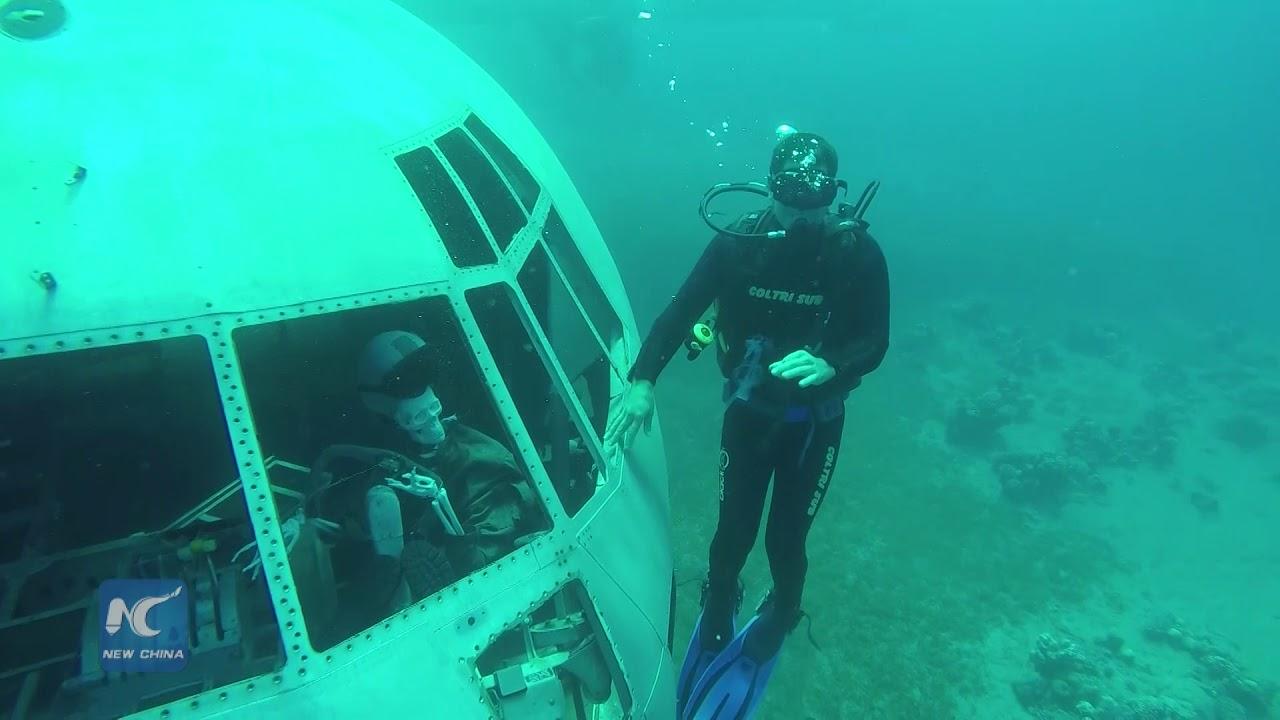 Underwater Plane Crash Photos Bodies