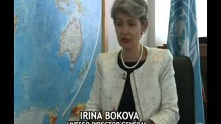 GLOBEWATCH CRTV WITH UNESCO  IRINA BOKOVA