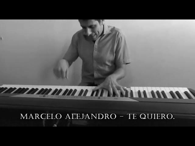 Marcelo Alejandro y un audiovisual