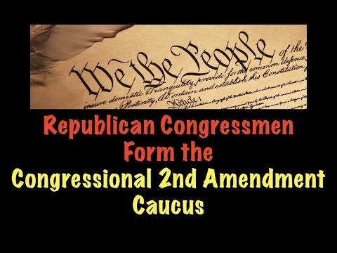 Republican Congressmen Form the Congressional Second Amendment Caucus