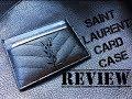 Saint Laurent (YSL) Card Case Review