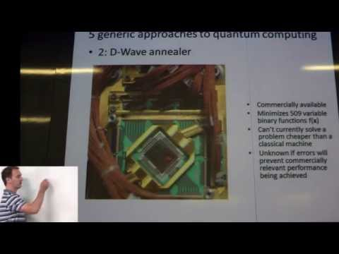 Austin Fowler:  Why and how should we build a quantum computer?