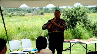 Northern Great Plains Culture Fest - Keith Bear flute music