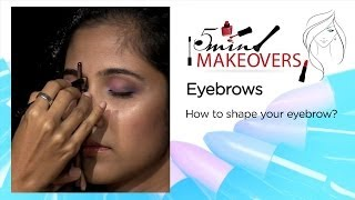 How To Shape Your Eyebrows || The Cloakroom Thumbnail