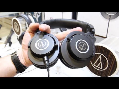 SXSW: Audio-Technica's Professional Studio Headphone Monitor Line (ATH-M50x)
