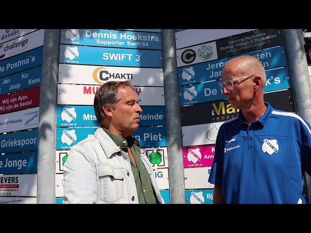 Swift64TV Intervieuw Jan Griekspoor over Sponsorloop voor nieuwe tribune