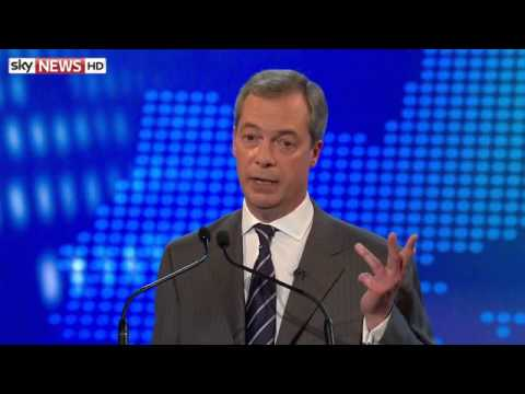 Nick Clegg and Nigel Farage clash again: Highlights