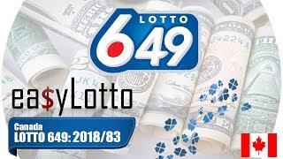 Lotto 649 winning numbers 17 Oct 2018