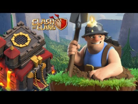 Miners Make for Some EASY Triples at TH10 | Clash of Clans