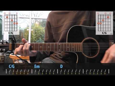 First Aid Kit - Cedar Lane guitar lesson for beginners