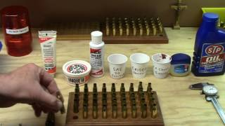 Case resizing lubes~How to select, properly use them, and hassles to avoid