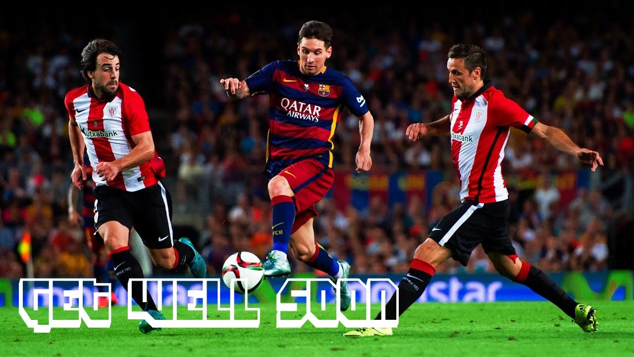 Lionel Messi - Get Well Soon - Skills Show 2015/16 - YouTube