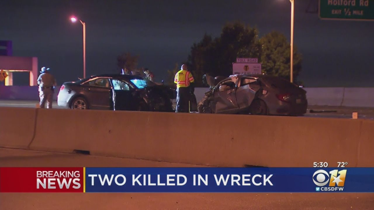 2 Dead After Wrong-Way Driver Crash On The Bush Turnpike