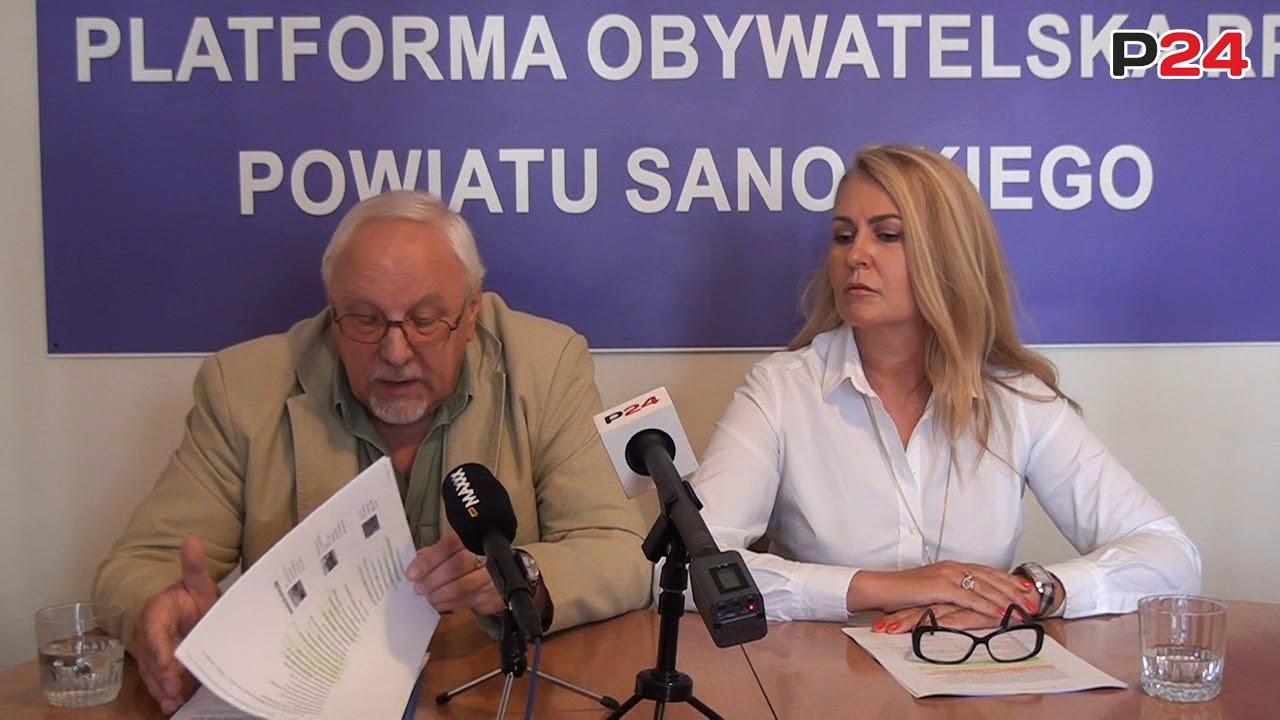 """EUROPOSEŁ ŁUKACIJEWSKA: """"Skandal w wykonaniu zarządu Autosanu"""".""""Kłamał też poseł Rzońca"""""""