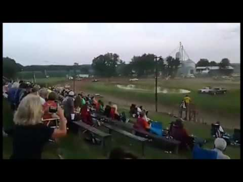 Paragon Speedway Super Stock Heat Race 6/17/2017