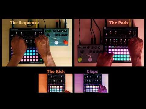 004▶️ Circuit Station (Electronic music jam with Novation Circuit Mono Station & Strymon Timeline)