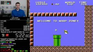 (8:10.64 w/out loads) Super Mario Bros.: The Lost Levels FDS any% 8-4 (Luigi) *World Record*
