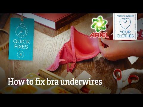 Quick fixes: How to fix bra underwires