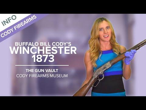 Buffalo Bill Cody's Winchester 1873  - The Gun Vault #12 - Cody Firearms Museum