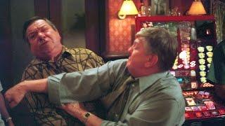 EastEnders - Charlie Slater Punches Harry Slater (4th October 2001)