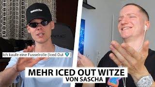 Justin reagiert auf neue Iced Out Witze von Sascha.. | Reaktion