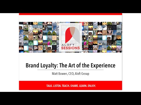 Aloft Sessions, The Art of the Experience