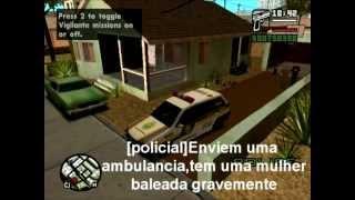 Perseguição Policial -Gta san andreas