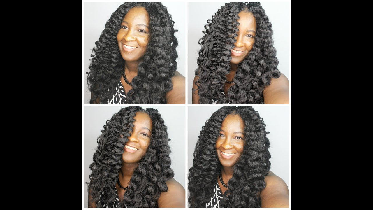 Isis Faux Remi Bohemian Crimpy Wave Crotchet Braids Youtube