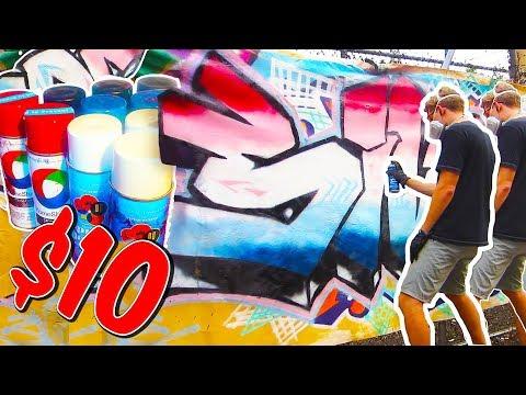 $10 GRAFFITI PIECE CHALLENGE - SIVE -