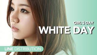 걸스데이 Girl's Day - White Day | Line distribution