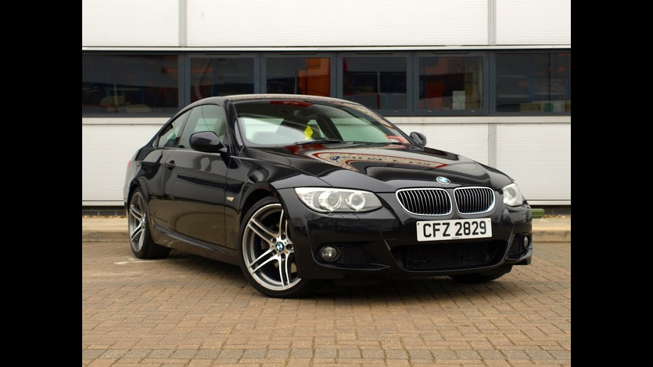 2010 10 bmw 330d m sport coupe 19 750 youtube. Black Bedroom Furniture Sets. Home Design Ideas