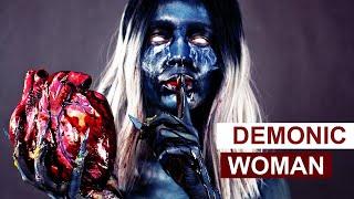 DEMONIC WOMAN | HUMAN HEART | TUTORIAL | Zaliczenie w Wyższej Szkole Artystycznej