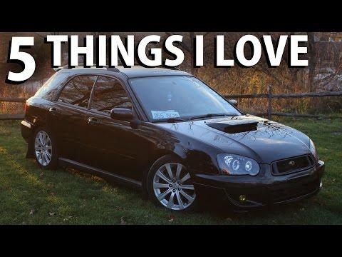5 Things I Love About My Subaru WRX Wagon